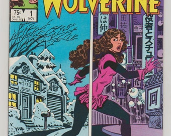 Kitty Pryde and Wolverine; Vol 1, 1 Copper Age Comic Book.  VF (8.0).  November 1984.  Marvel Comics