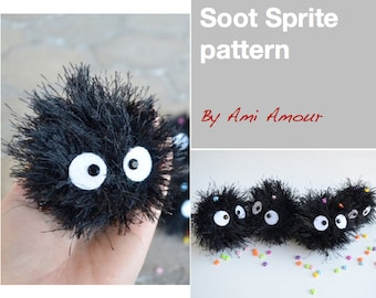 Soot Sprite Pattern Crochet Amigurumi PDF