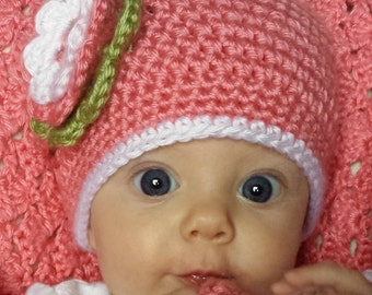 Baby hat for infants, newborn to 18 months children hat - Marrea