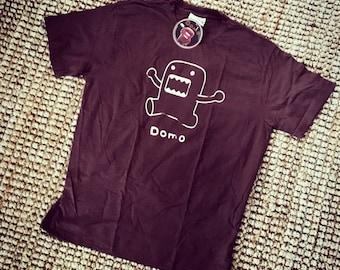 Brown Men's Offically Licensed Domo Shirt