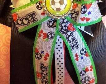 Soccer Long Tail Bow