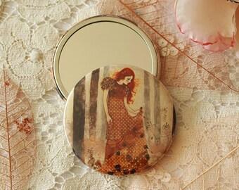 Pocket Mirror - Autumn Sorcery