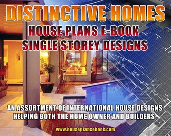 House Plan Book-Distinctive Homes One Storey Australian and International Home Plans