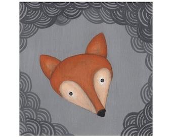 Fox - 8.5x11 Print