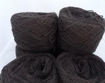 Brown yarn, alpaca yarn, knitting yarn, crochet yarn, yarn lot, cheap yarn, wool yarn, super fine yarn, sock yarn, fingering yarn, baby yarn
