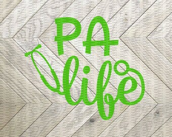PA Life, PA Decal, Physicians Assistant Life