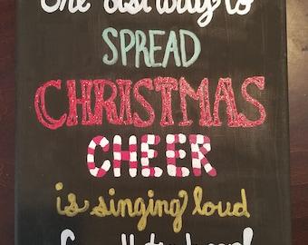 Christmas cheer- Elf
