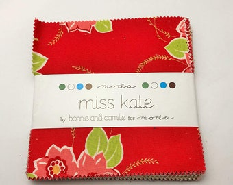 Miss Kate ~ Charm Pack ~ Bonnie & Camille for Moda Fabrics