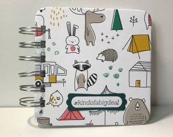 Woodsy Animals Password Book