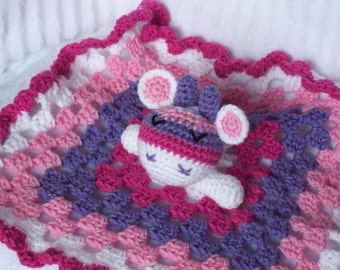 Giraffe Crochet Baby Blanket, Baby Lovey, Baby Lovie, Security Blanket, Giraffe Blanket, Animal Lovie, Animal Lovey, Giraffe Lovie