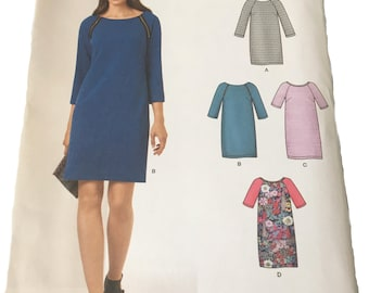 New Look dress pattern size 10-22