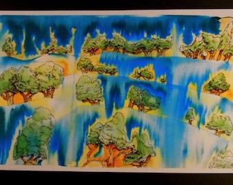 Bodhi Trees Print