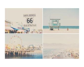 beach photograph santa monica photograph pacific ocean photograph los angeles photograph ferris wheel photograph california photograph