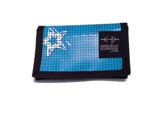 Blue Unisex wallet