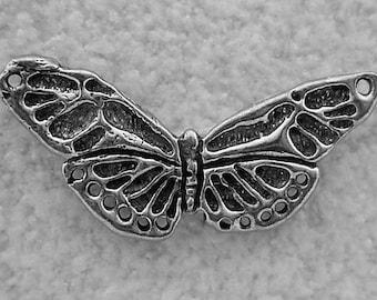 Green Girl Studios Pewter Butterfly Center Piece