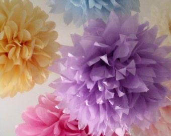 5 Poms ... Pick your colors - DIY Craft Kit