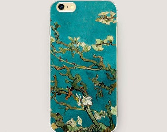 Van Gogh iPhone 7 Case, Blue iPhone 6 Case, iPhone 6s Case, iPhone 5 Case, iPhone 6 Plus Case Art Style, iPhone 6 Cover, Art Case for iPhone
