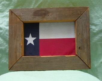 Framed Texas Flag