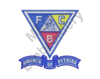 Knights Of Pythias - Machine Embroidery Design