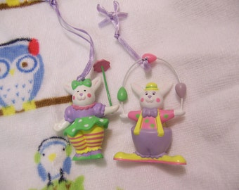 1981 avon bunny ornaments