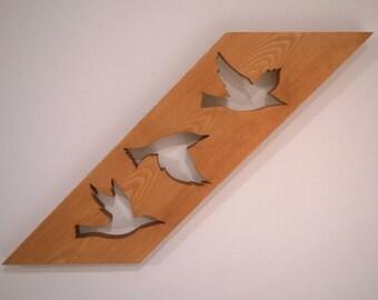 Birds in Flight Wall Art