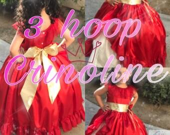 Crinoline, hoop skirt, dress crinoline, kids crinoline, underskirt