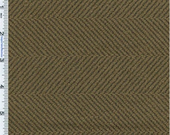 Cocoa Brown Herringbone Upholstery Fabric Fabric, Fabric By The Yard
