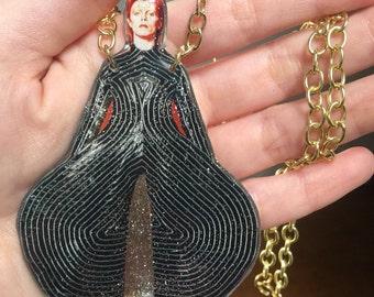 Ziggy Bowie Necklace