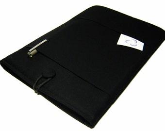 Macbook Air Case, Macbook Air Sleeve, Macbook 12 inch Case, 11 Inch Macbook Air Case, Laptop Sleeve, Solid Black