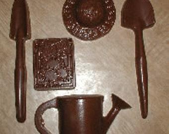 Gardening Assortment Set  Chocolate Mold