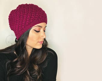 Godrics Hollow Beanie - Hermione Inspired - Harry Potter - The Deathly Hallows