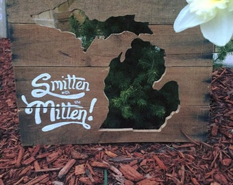 FREE SHIP Smitten with the Mitten
