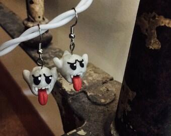Boo Mario earrings
