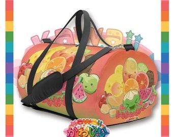 Univers kawaii - Cute groupe de Fruits classique sac de voyage / polochon