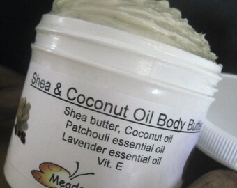 Face, Body Moisturizer, After Shave Balm, Shea, Coconut Fluff, Patchouli  and  Lavender