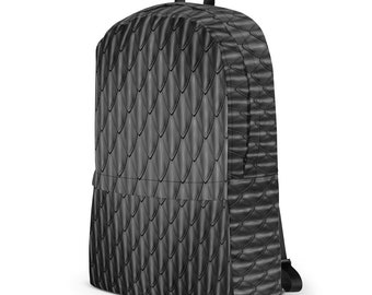 Black Dragon Scales Backpack