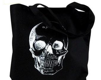 Anatomical Skull Tote Bag