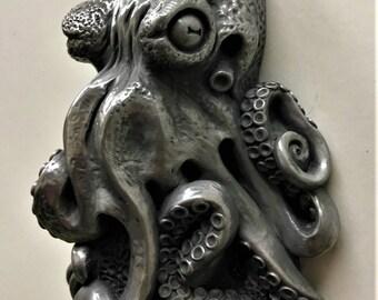Octopus wall mounted bottle opener