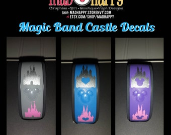 Magic Band Castle Decal - Solid & Glitter