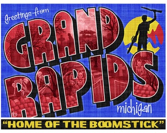 Postcard : Home of the Boomstick