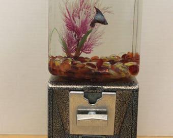 Vintage Gum Ball Machine Fish Tank  II