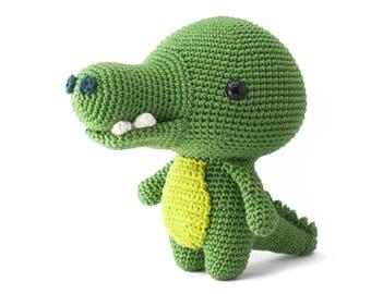 Toto the Crocodile amigurumi crochet pattern PDF