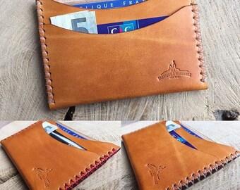 Slim card case customizable