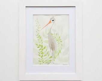 Bird - original Watercolour