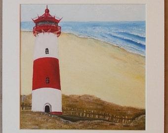 Lighthouse Beach - Set of 3 art Prints