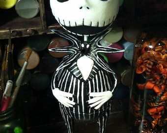 Custom Jack Skellington doll