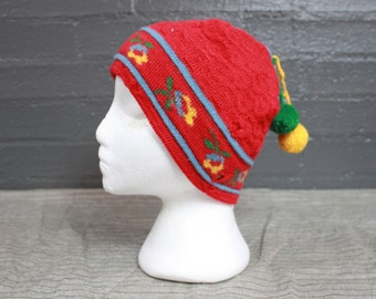 SALE Vintage skiing hat by Hanna