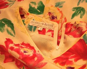 LAGRIFFE AUSONI Floral Dress