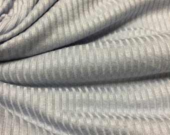 Ribbed Spandex Jersey Knit Fabric 2 Yards