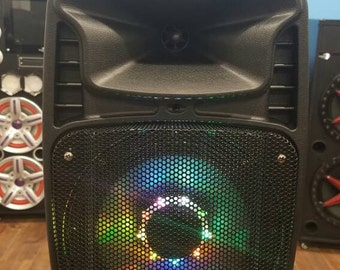 Portable Bluetooth Speaker with Lights - SP-8RBT